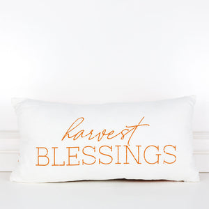 Harvest Blessings Pillow