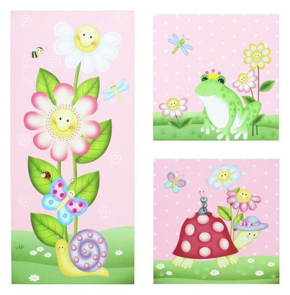 Magic Garden Canvas Art Set