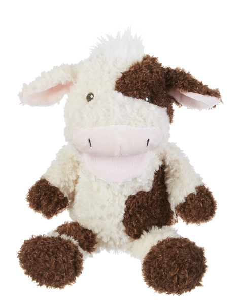 Happy Hill White and Brown Musical Cow Puppet