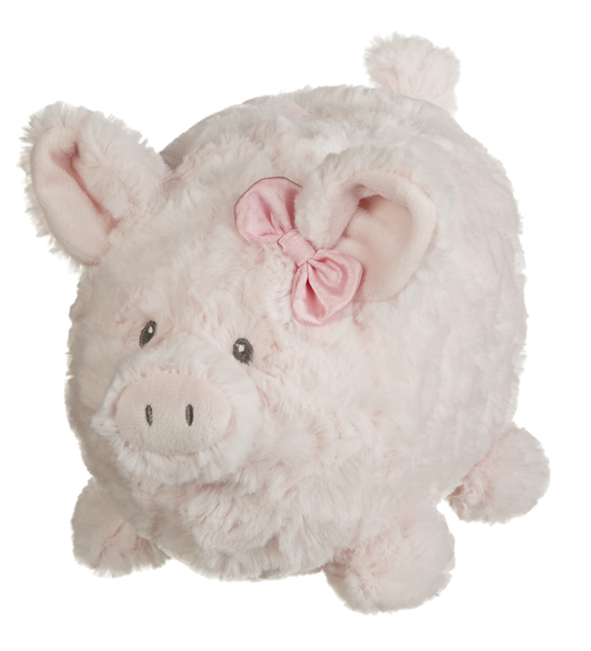 Plush Pink Piggy Bank