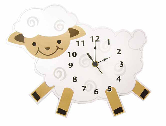 Lamb Wall Clock