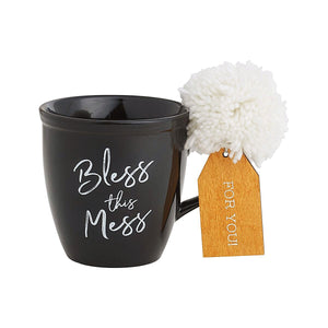 """Bless  This Mess"" Coffee Mug"