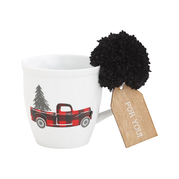 Home For the Holidays Porcelain Mug