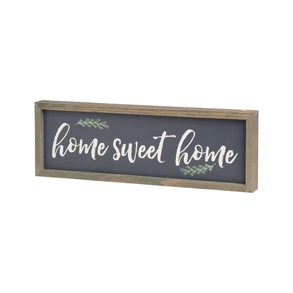 Home Sweet Home Framed Wooden Sign