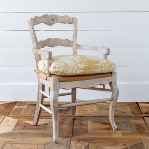 French Quarter Cushioned Arm Chair