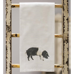 Pig Tea Towel