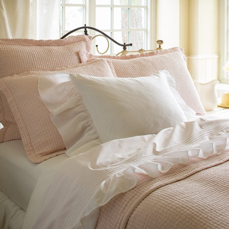 Hudson Petal Pink Pillow Shams