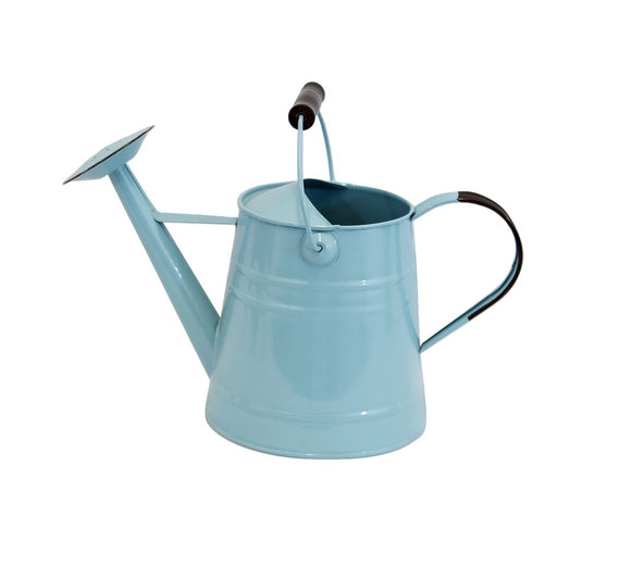 Aqua Blue Enamel Watering Can