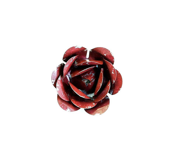 Red Rose Metal Magnet