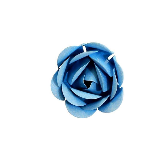 blue rose magnet