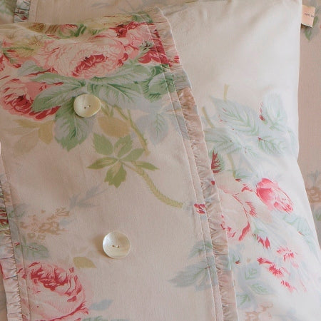 Rose Porch Pillow