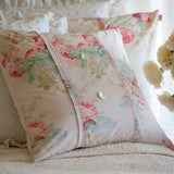 Shore Rose Petal Porch Pillow