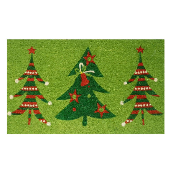 Christmas Trio Doormat