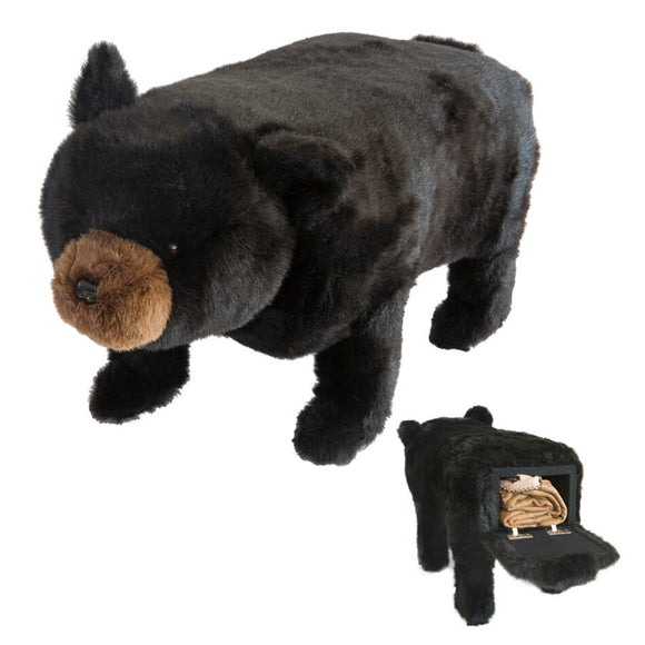 Black Bear Storage Footstool