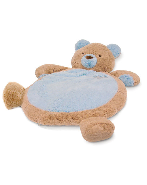 Blue Teddy Bear Baby Mat