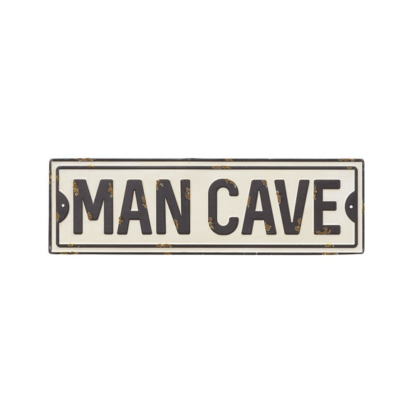 Man Cave Metal Street Sign