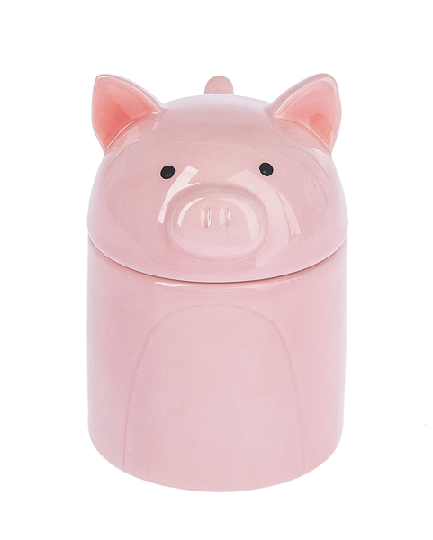 Pig Jar With Spoon