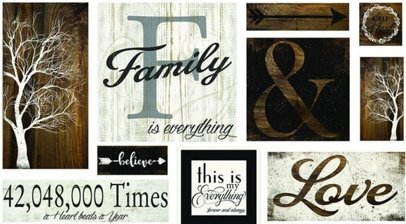 Canvas Family Gallery Wall Art