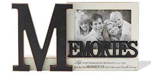 Memories Tabletop Wooden Picture Frame