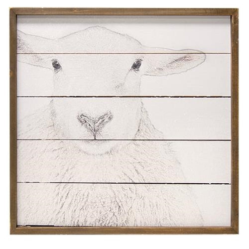 Large Sheep Wall Art
