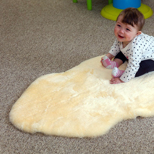 Sheepskin infant Care Rug
