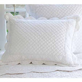 "Standard Pillow Sham - King sham will be wider and taller 23"" x 35"""