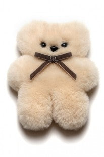 Sheepskin Little Cuddle Teddy Bear
