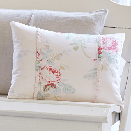 Shore Rose Petal Pink Boudoir Pillow