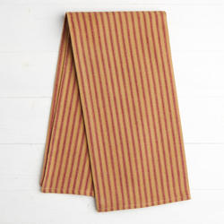Red Ticking Dish Towel