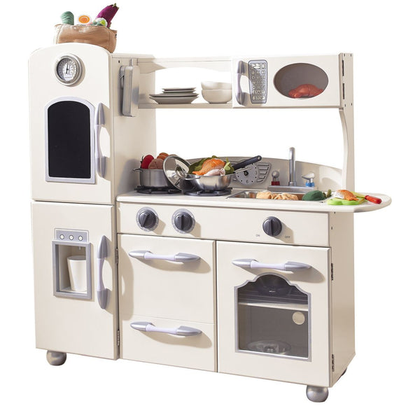Westchester Retro Play Kitchen, white