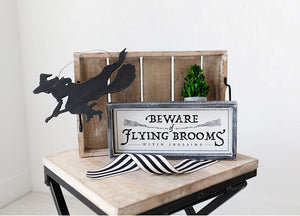 Witch Cutout Hanging Sign