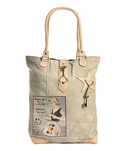 Coffee Handed To Me Tan Tote