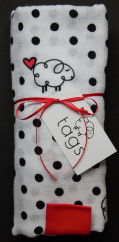 Ultra Soft Sheep Swaddle Blanket