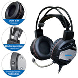 "Gaming headset Defender Warhead G-500 Professional Wired Gaming Bass ""Over-Ear"" Headphones with Mic 3.5mm"