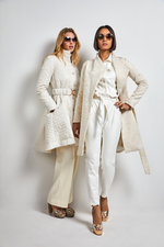 Load image into Gallery viewer, Rico wool cream coat