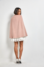 Load image into Gallery viewer, Cashmere pink cape