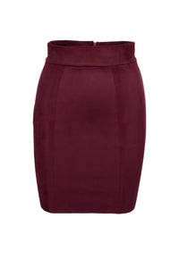 Christelle eco suede mini skirt