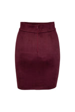 Load image into Gallery viewer, Christelle eco suede mini skirt
