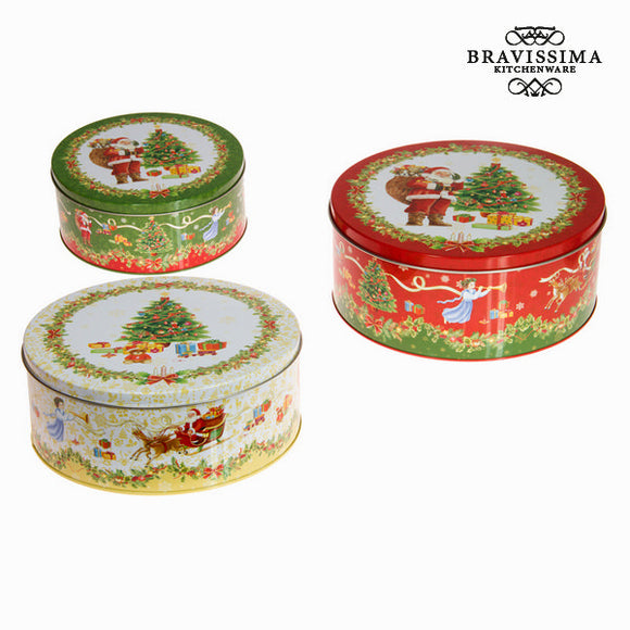 Ensemble de 3 boîtes de noël by Bravissima Kitchen