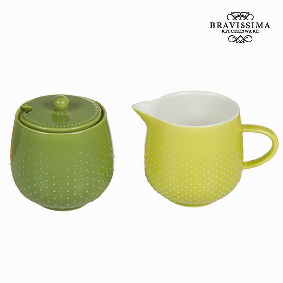Kit pichet à lait et sucrier tea time - Collection Kitchen's Deco by Bravissima Kitchen