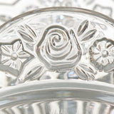 Assiette rose bud - Collection Pure Crystal Kitchen by Bravissima Kitchen