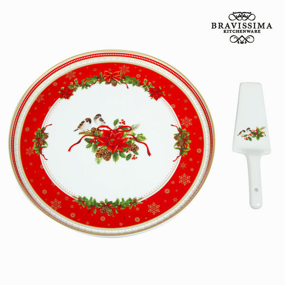 Kit à gâteaux en porcelaine noël by Bravissima Kitchen