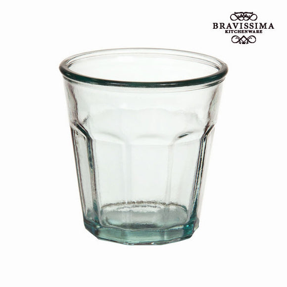 Verre en Verre Recyclé Bas - Collection Pure Crystal Kitchen by Bravissima Kitchen