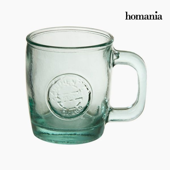 Carafe en Verre Recyclé Transparent - Collection Pure Crystal Kitchen by Homania