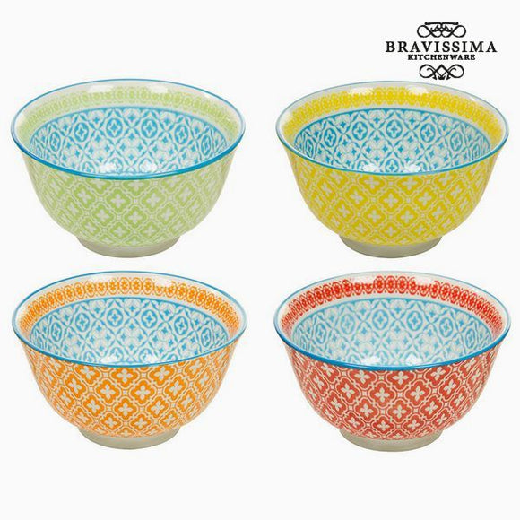 Ensemble de bols (4 pcs) - Collection Queen Kitchen by Bravissima Kitchen