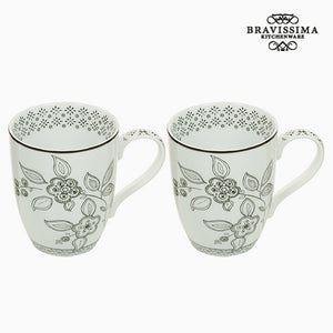 Ensemble de 2 mugs - Collection Queen Kitchen by Bravissima Kitchen