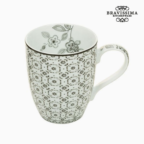Tasse Porcelaine Figure géométrique - Collection Kitchen's Deco by Bravissima Kitchen