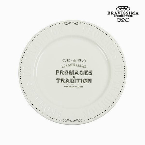 Plateau de Fromages Porcelaine - Collection Kitchen's Deco by Bravissima Kitchen