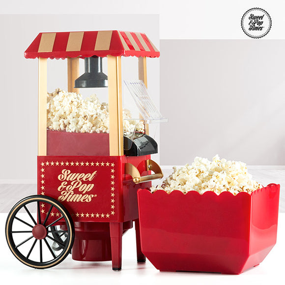 Machine à Popcorn Appetitissime Sweet & Pop 1200W Rouge
