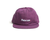 PATERSON LEAGUE - OG LOGO HAT PLUM